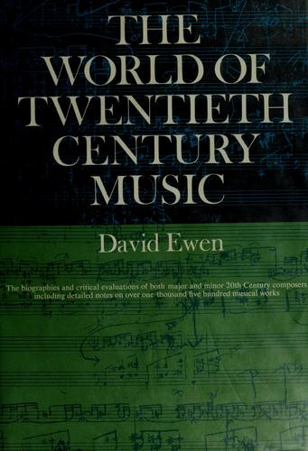 Download The world of twentieth-century music.