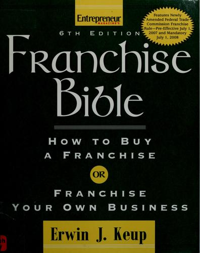 Download Franchise bible