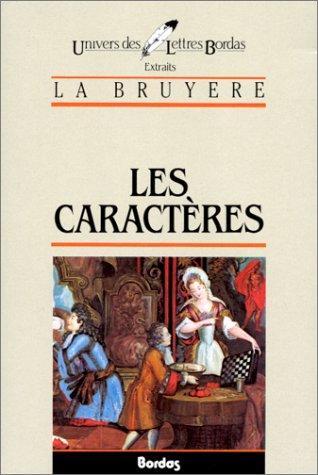 Download Les Caracteres*