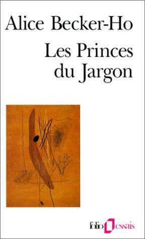 Les Princes du jargon
