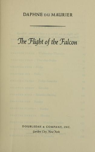 The flight of the falcon.