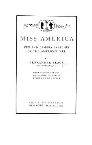 Download Miss America
