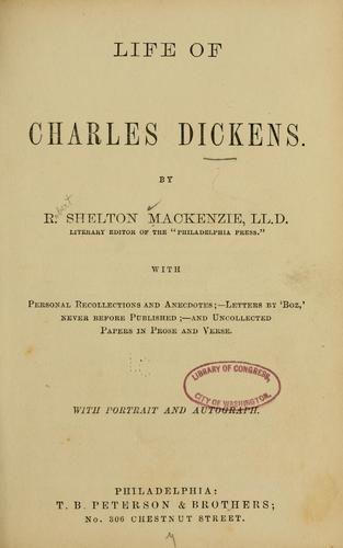 Download Life of Charles Dickens.