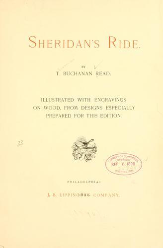 Download Sheridan's ride.