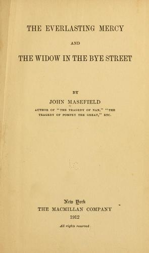 Download The everlasting mercy, and, The widow in the Bye Street