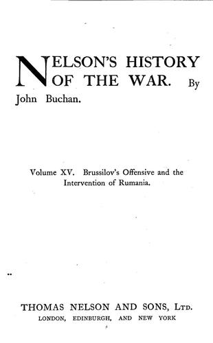 Download Nelson's History of the war.