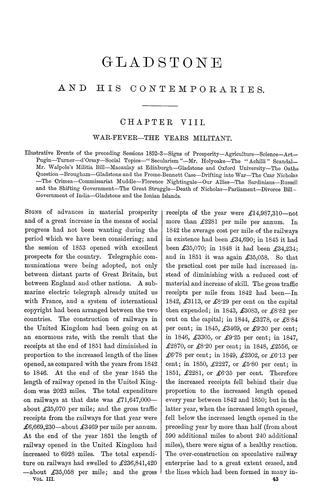 Download William Ewart Gladstone and his contemporaries