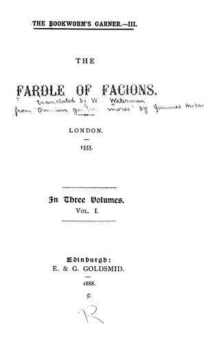 The fardle of facions.