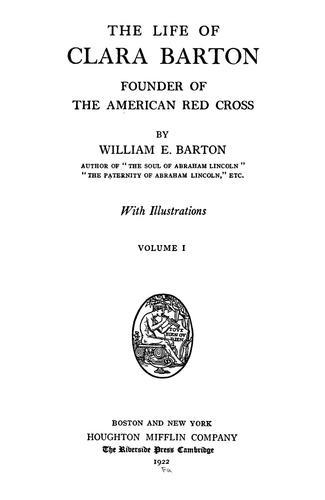 Download The life of Clara Barton