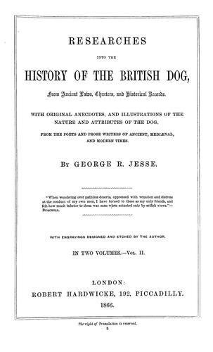 Download Researches into the history of the British dog