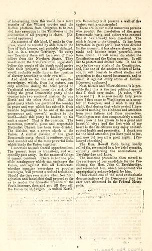 Download Speech of President Buchanan, on the evening of Monday, July 9, 1860.