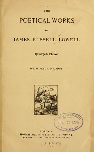 Download The poetical works of James Russell Lowell.