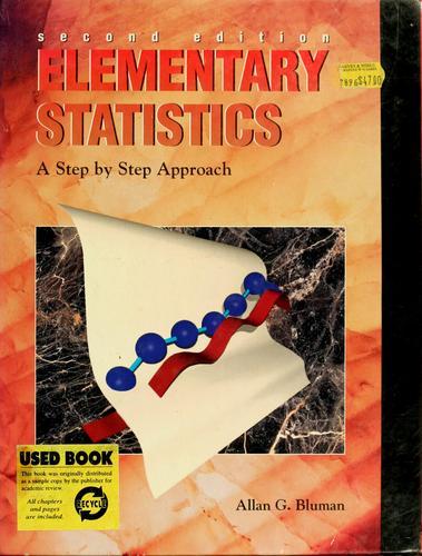 Download Elementary statistics
