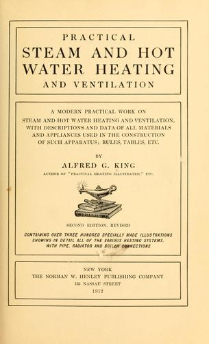 Practical steam and hot water heating and ventilation