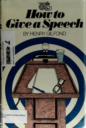 Download How to give a speech