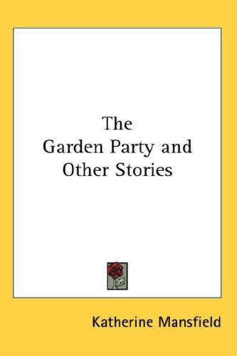 Download The Garden Party and Other Stories