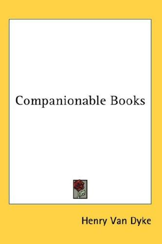 Download Companionable Books