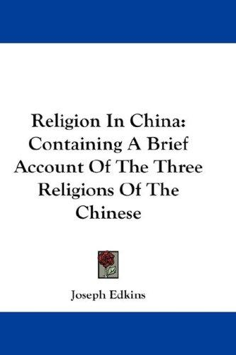 Download Religion In China