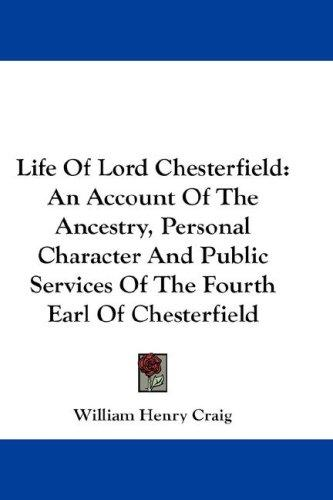 Download Life Of Lord Chesterfield