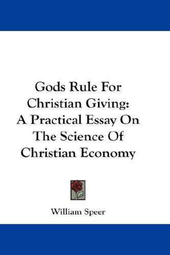 Gods Rule For Christian Giving