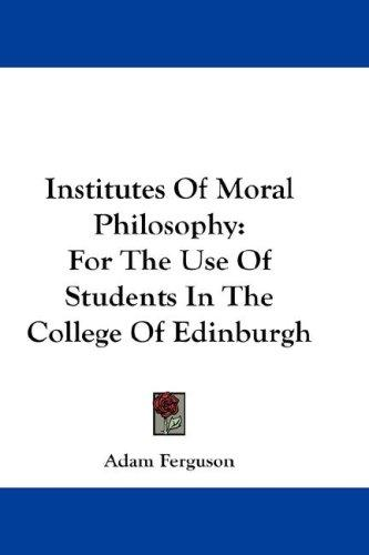 Download Institutes Of Moral Philosophy
