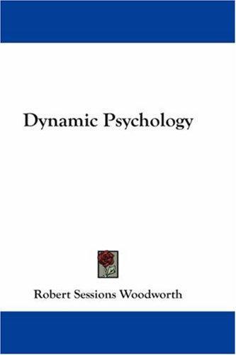 Download Dynamic Psychology