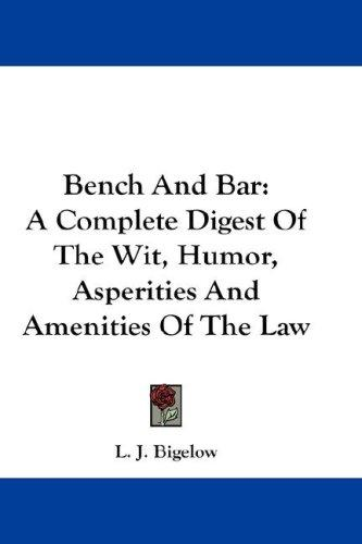 Download Bench And Bar