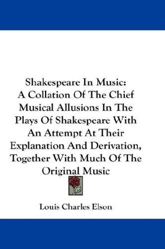 Download Shakespeare In Music