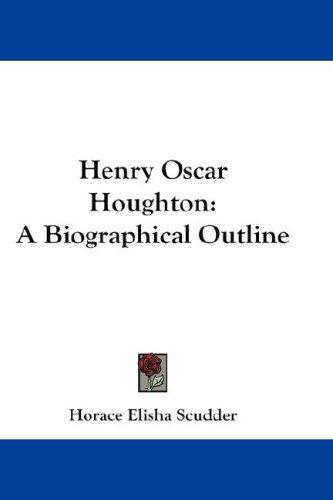Henry Oscar Houghton