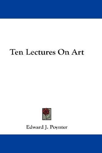 Download Ten Lectures On Art