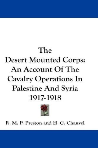 Download The Desert Mounted Corps