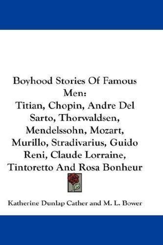 Download Boyhood Stories Of Famous Men