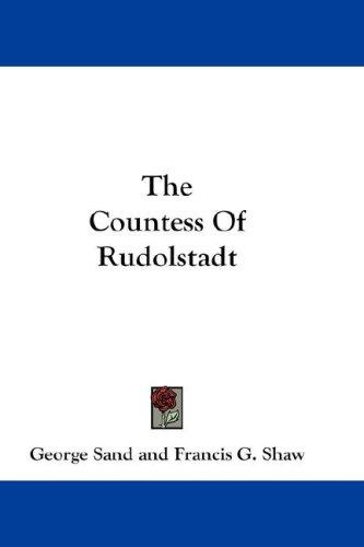 Download The Countess Of Rudolstadt