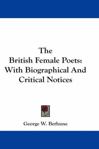 The British Female Poets