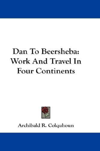 Dan To Beersheba