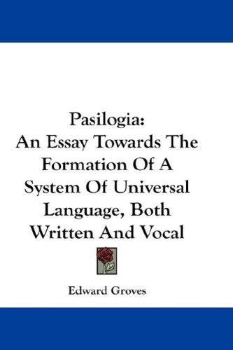Pasilogia by Edward Groves