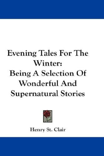 Download Evening Tales For The Winter