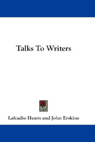 Talks To Writers
