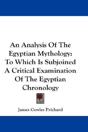 An Analysis Of The Egyptian Mythology