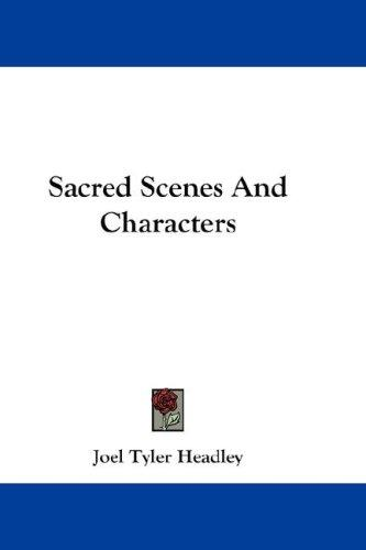 Sacred Scenes And Characters
