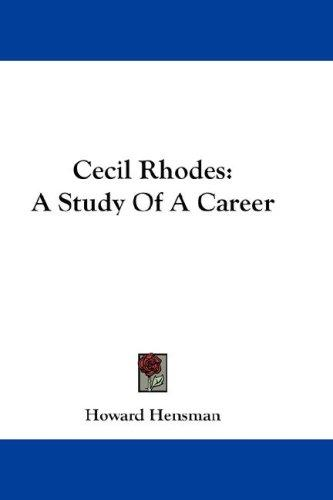 Download Cecil Rhodes
