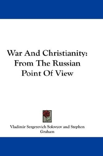 Download War And Christianity