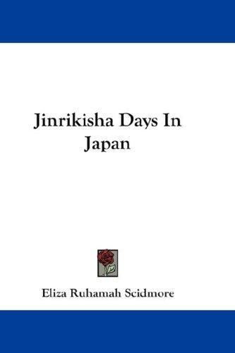 Jinrikisha Days In Japan
