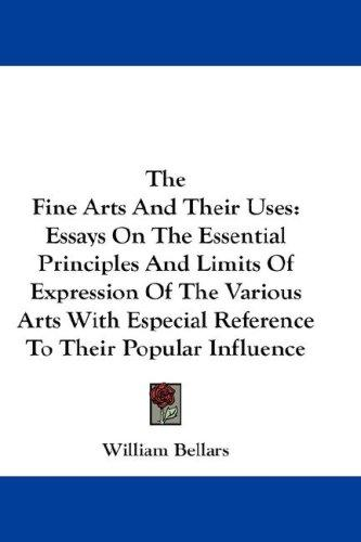 The Fine Arts And Their Uses