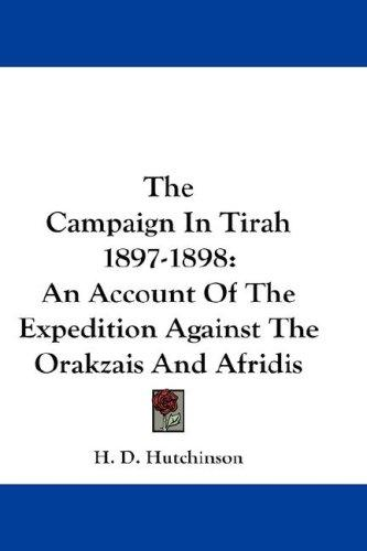 Download The Campaign In Tirah 1897-1898