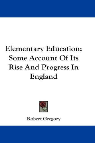 Download Elementary Education