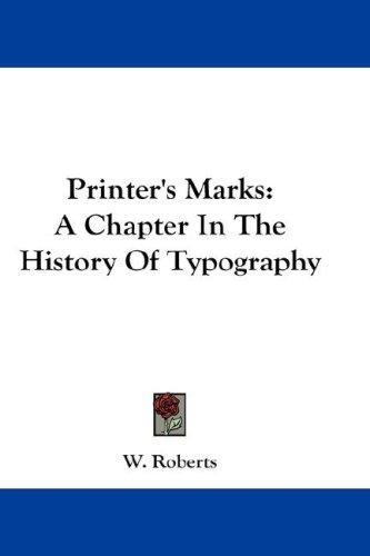 Download Printer's Marks