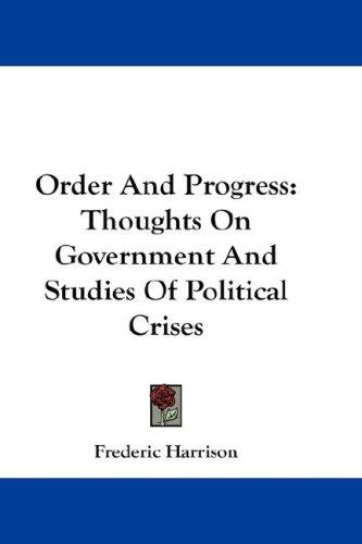 Order And Progress