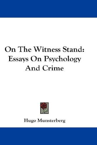 Download On The Witness Stand