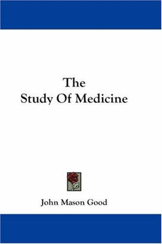 Download The Study Of Medicine